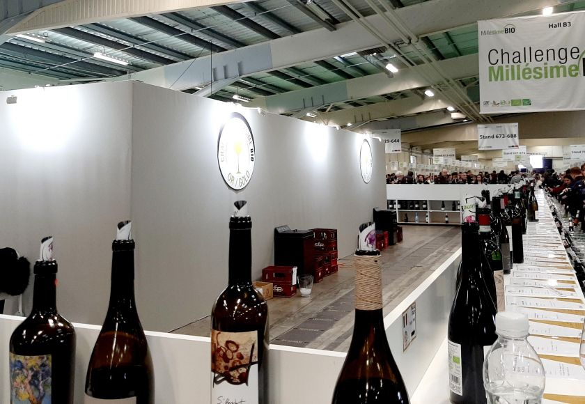 mallorcan wines at the Millésime Bio wine trade fair