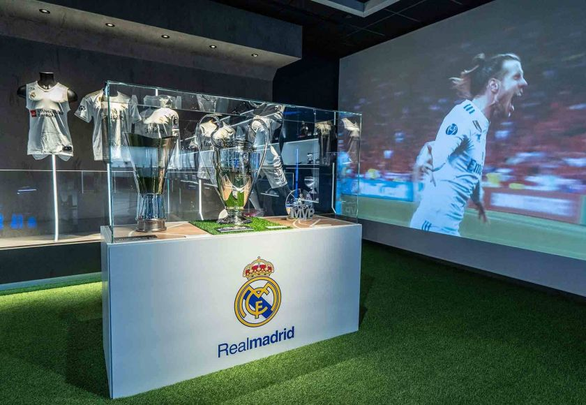real madrid trophies