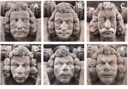 carved heads of the cort