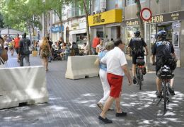 concrete barriers in palma
