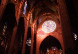 Kaleidoscope show in Palma Cathedral